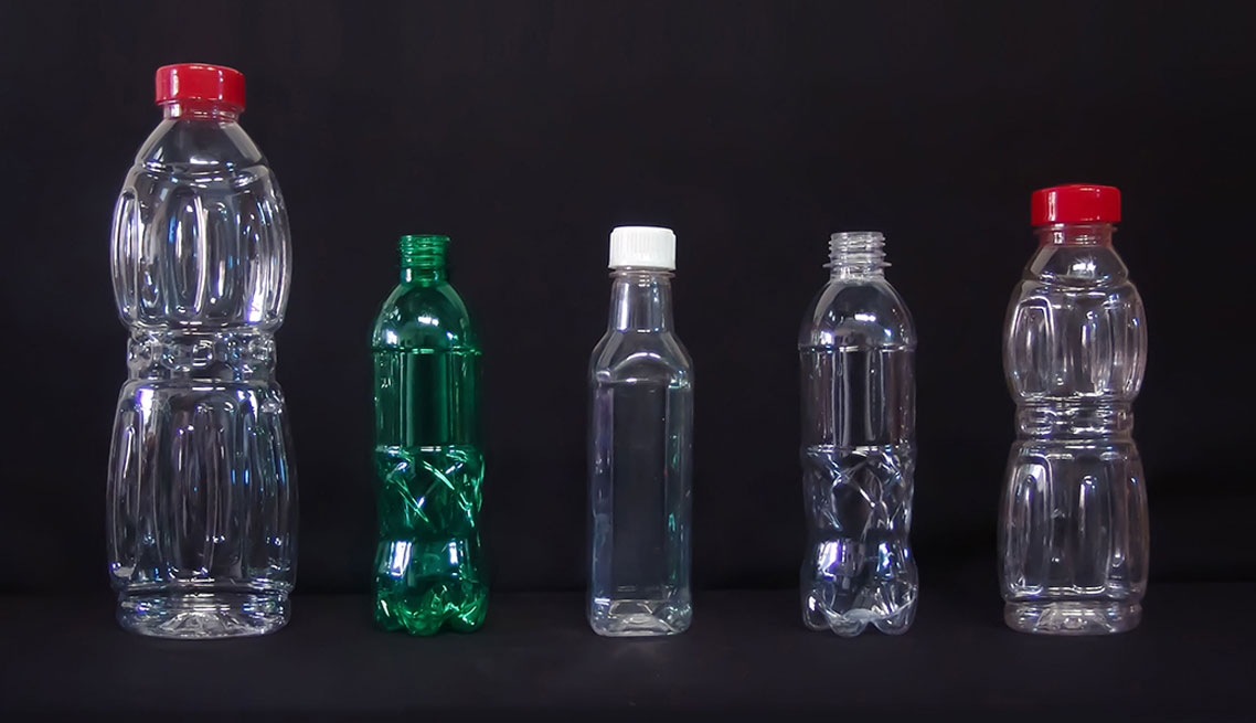 PET Bottles Clear and Coloured